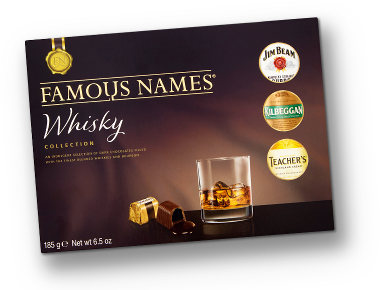 Famous Names Whisky Collection header pack